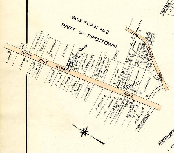Freetown Map